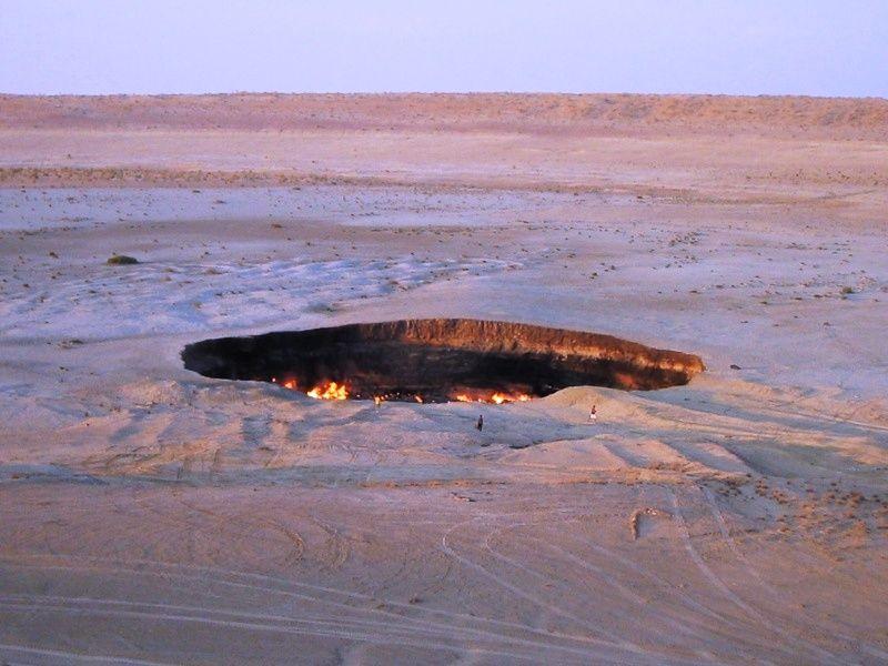 La porte de l 39 enfer - Turkmenistan porte de l enfer ...